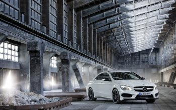 Wallpaper: Mercedes-Benz CLA 45 AMG