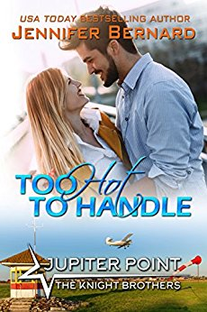 Too Hot to Handle (Jupiter Point #8) by Jennifer Bernard (CR)