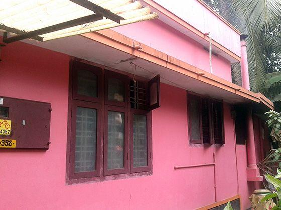House before renovation
