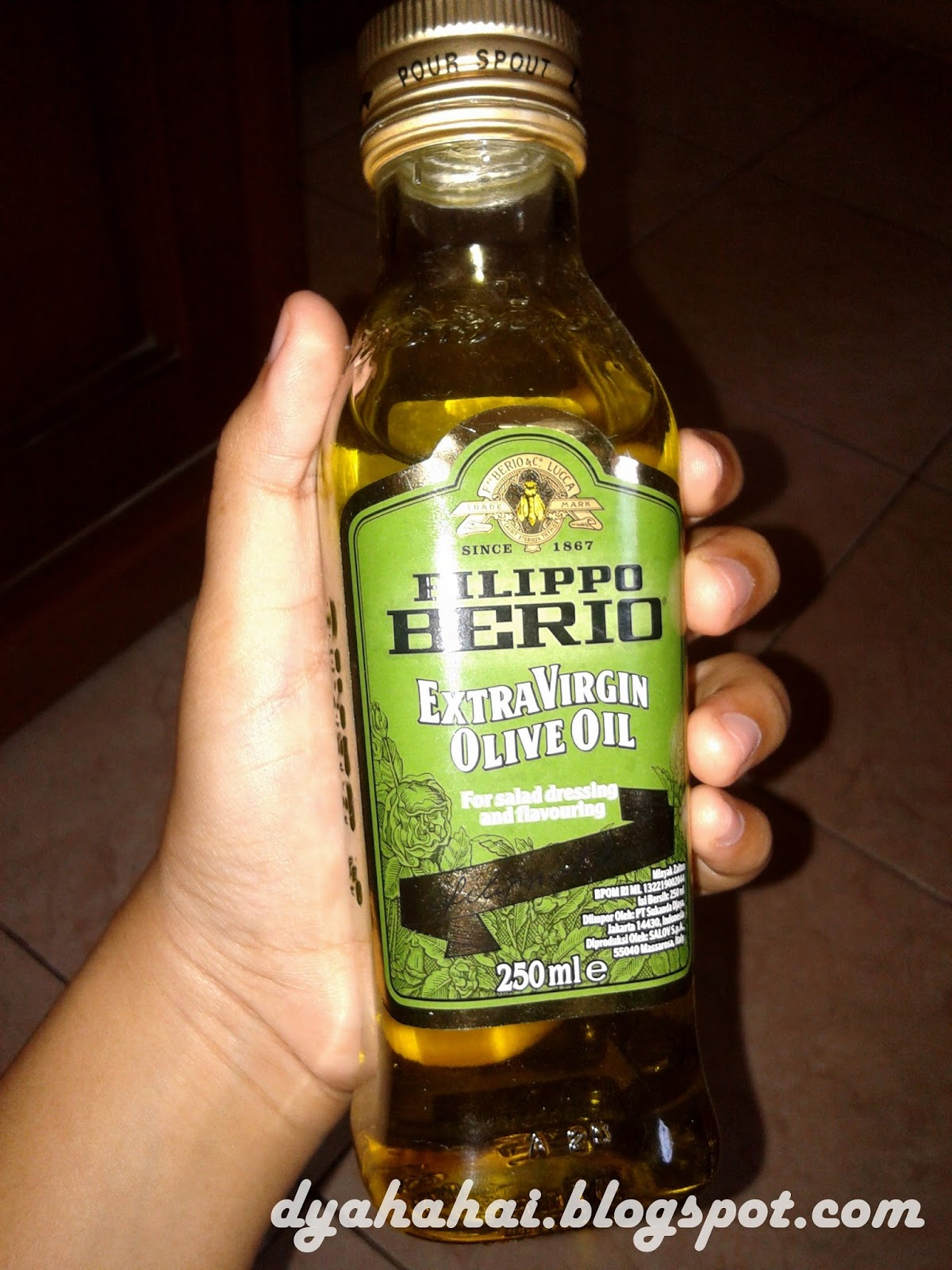 Manfaat Extra Virgin Olive Oil