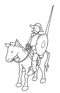 http://www.wikipekes.com/dibujos-para-colorear-de-don-quijote.html