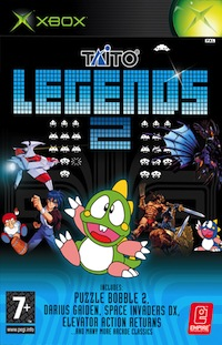 Taito Legends 2 original xbox