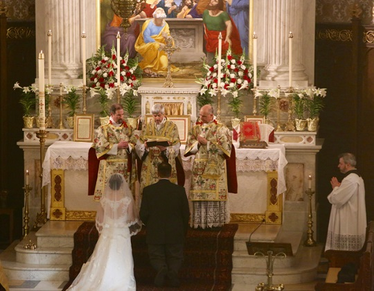 Matrimonio Romano Antiguo : Catholicvs sacramento del matrimonio recién contraído