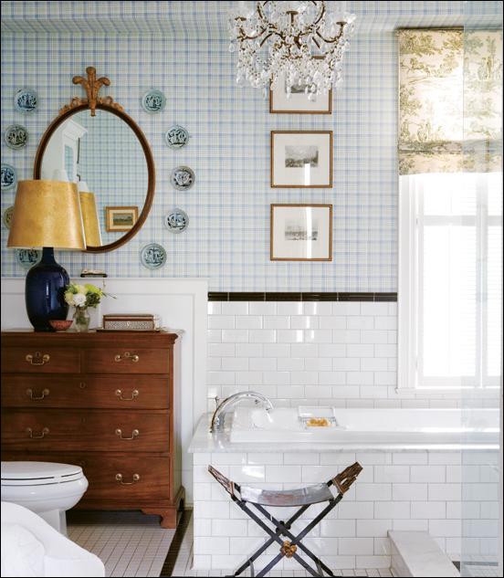 Key Interiors By Shinay Transitional Bathroom Design Ideas: Key Interiors By Shinay: English Country Bathroom Design Ideas
