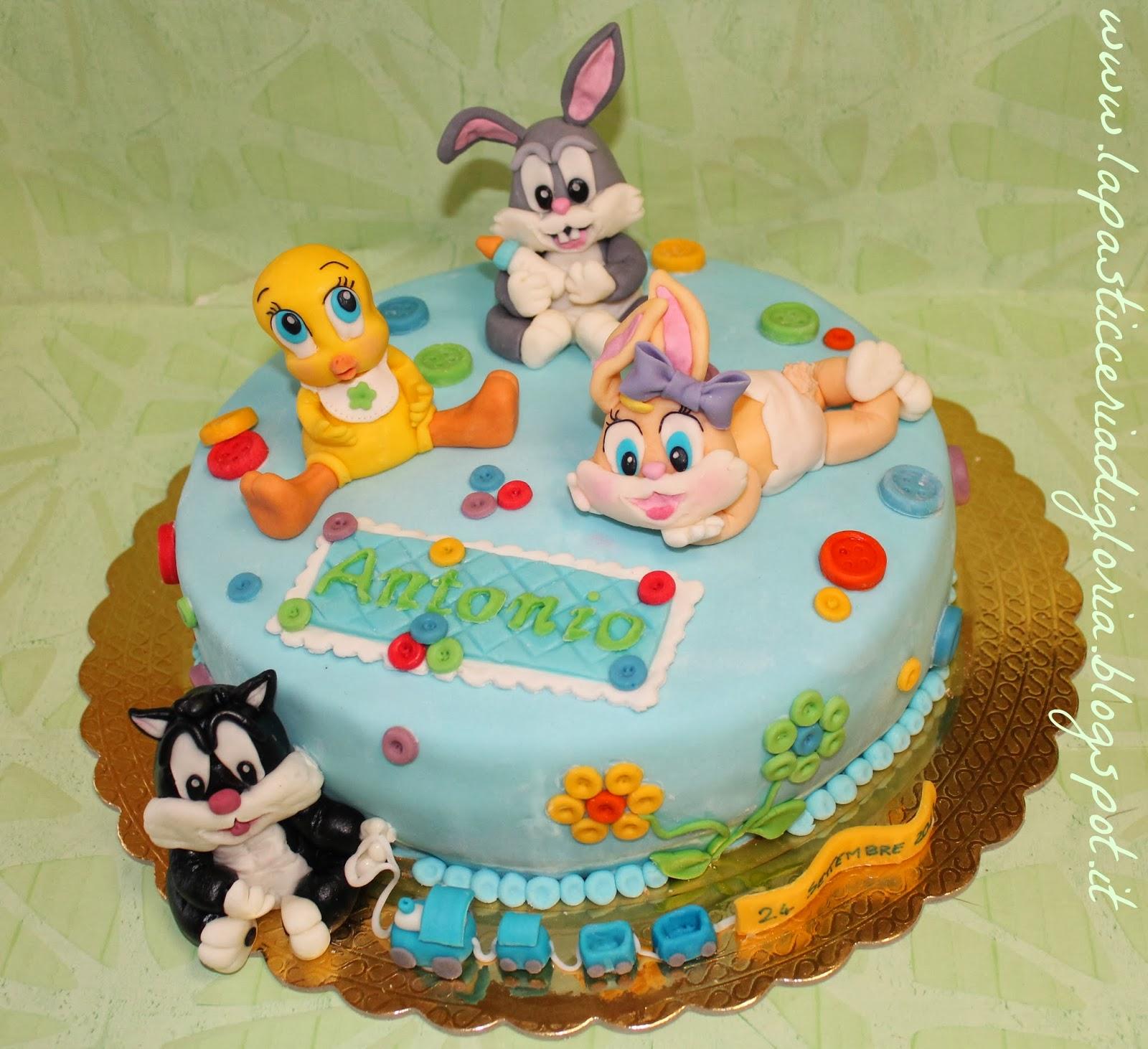 La pasticceria di gloria torta baby looney tunes - Bebe looney tunes ...