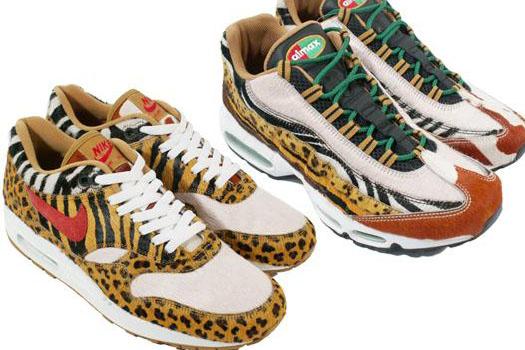 Tiger Print Air Max Nikes Safari Pack | Animal Print Shoes