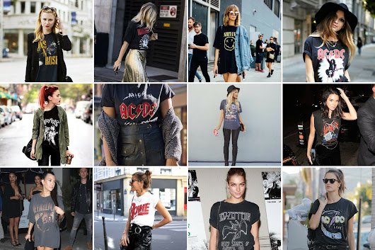 Style Trend: The Band Tee