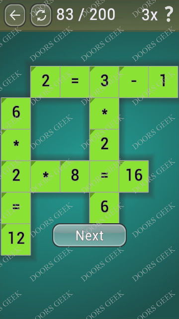 Math Games [Beginner] Level 83 answers, cheats, solution, walkthrough for android