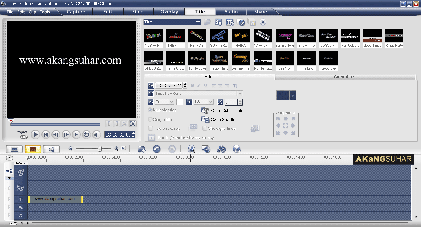 Download Ulead Video Studio 11 Plus Full Version