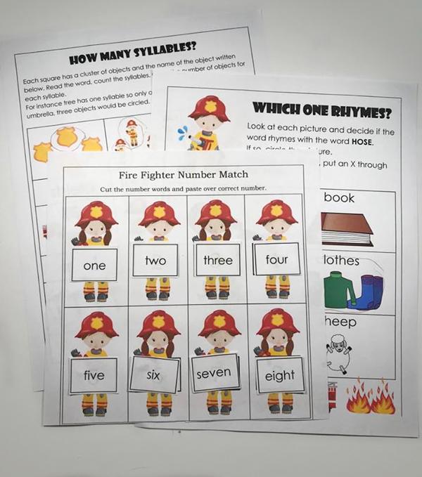 Kindergarten Worksheets and Games FREE Fire Safety Worksheets – Fire Safety Worksheets