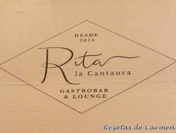 Cocina nacional e internacional: Rita la Cantaora.