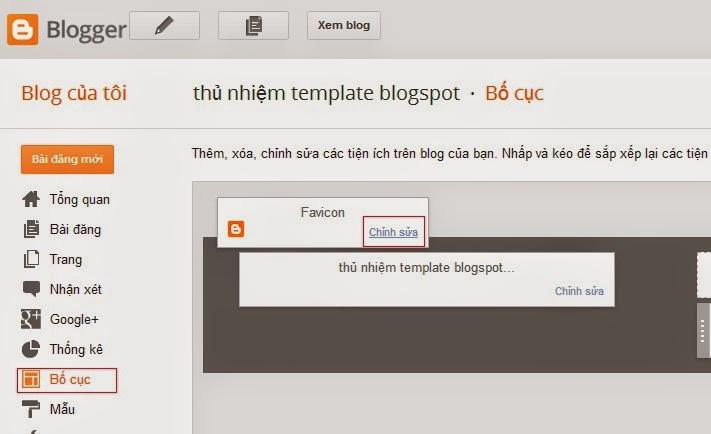 Cách tạo favicon cho blogger