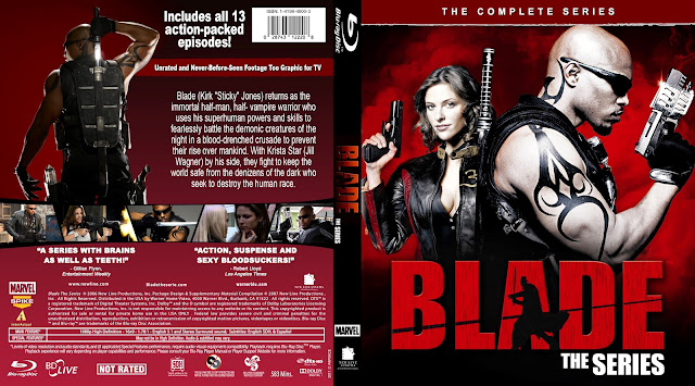 Blade The Complete Series Bluray Cover
