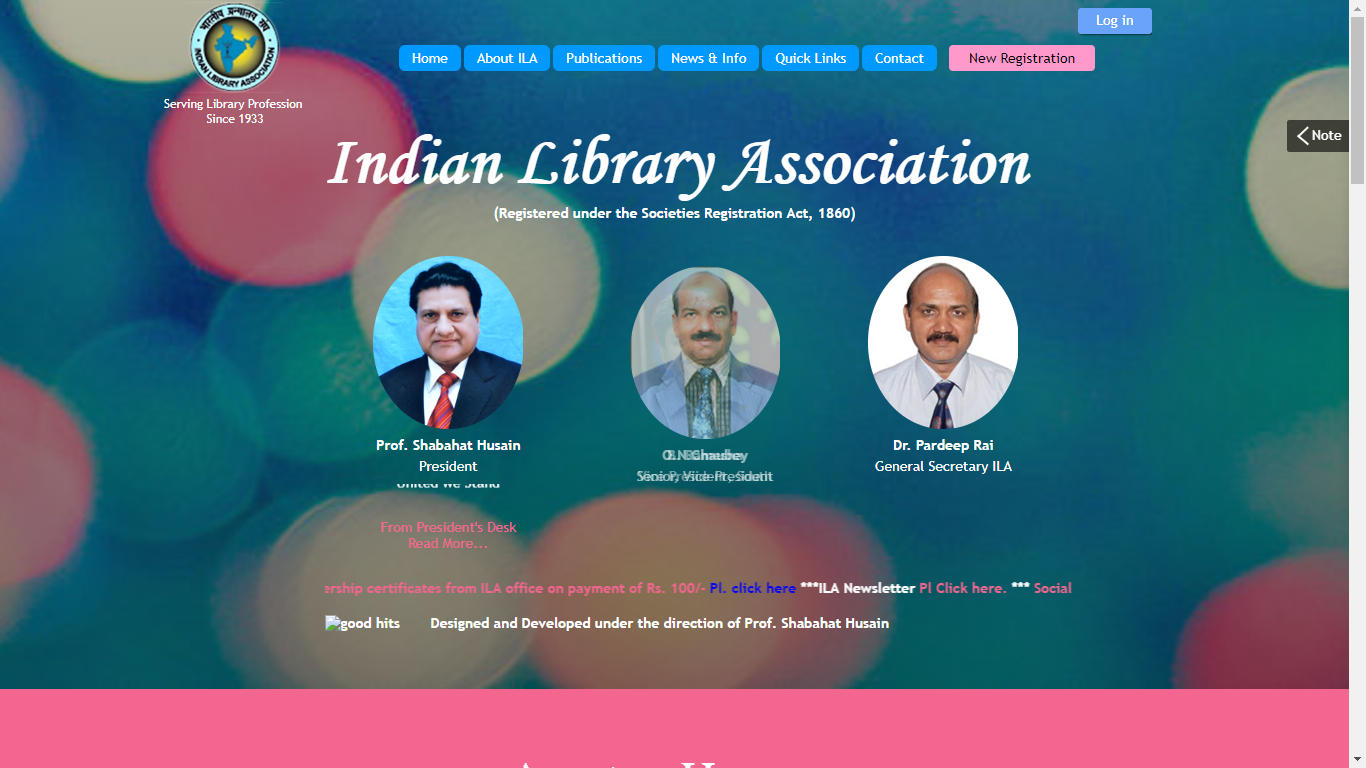 Portal of Indian Library Association