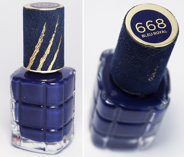 "L'Oréal - Die Schöne und das Biest - Nagellack 668 Bleu Royal ""Bella e la Bestia"", Beauty and the Beast"