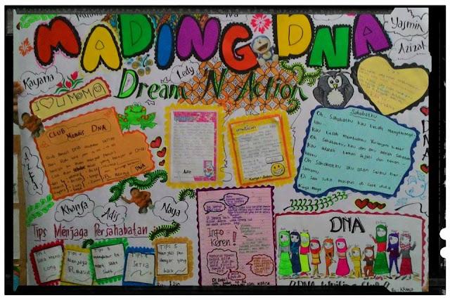 Mading karya anak-anak DNA