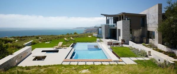 Hermosa casa moderna en la playa todo sobre fachadas for La casa moderna