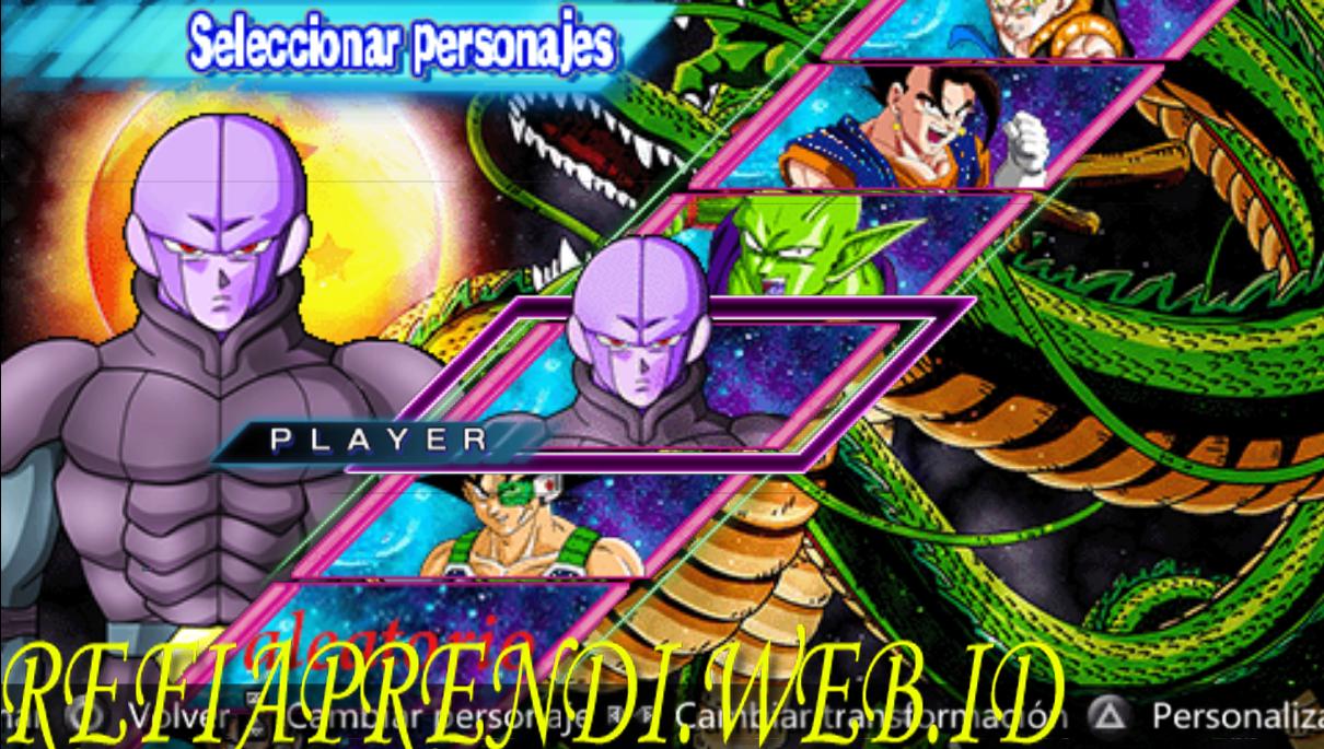 Download game ppsspp dragon ball z shin budokai 5 mod