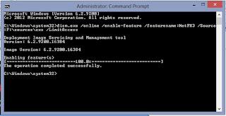 Windows 8 এ অফ লাইন এ ইনস্টল করুন .Net Framework 3.5