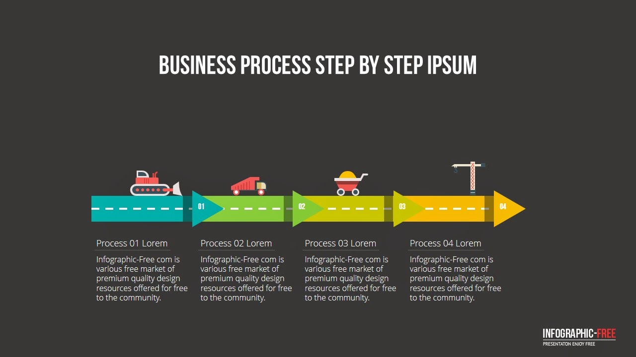 Constructional business process powerpoint template infographicon constructional business process wajeb Choice Image