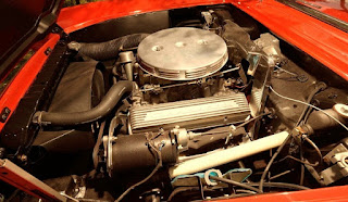 1956 Chevrolet Corvette Dual Quad Convertible Engine