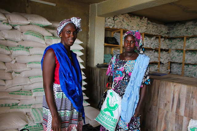 Female farm owners in Sierra Leone  Africa