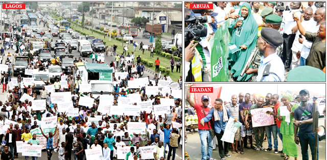 Participants-in-the-anti-FG-protests-in-Lagos-Abuja-and-Ibadan-...-on-Monday