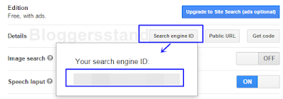 your search engine id