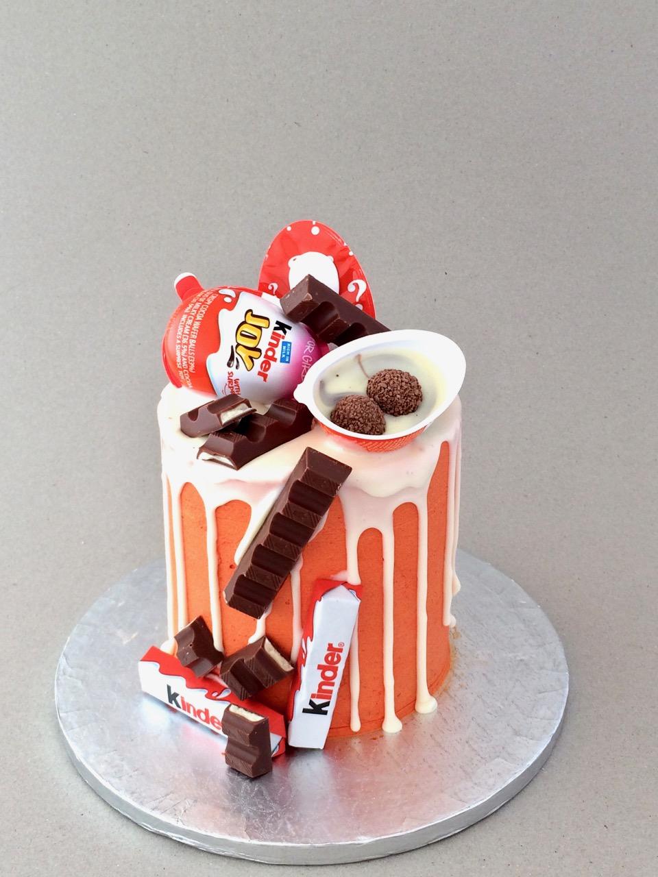Kinder Joy Cake Images