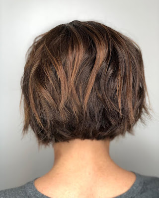 Choppy Bob could be a fancy way of saying 27 Short Choppy Hairstyles For Thick Hair That Attract Eyes