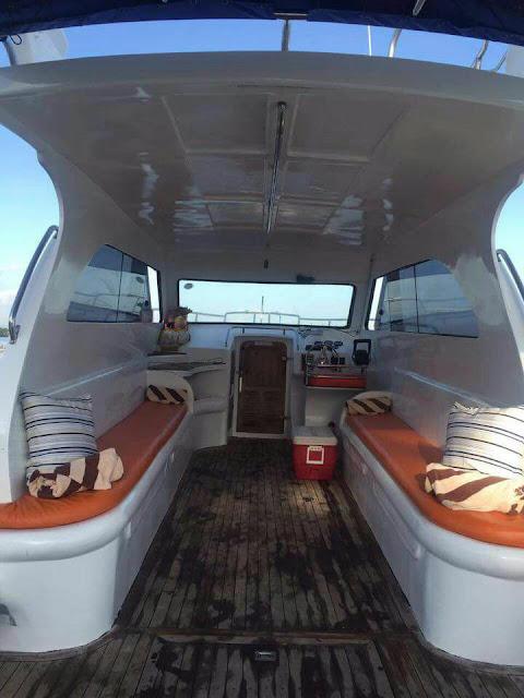 Private Boat Mancing Coral dan Tralling fishing