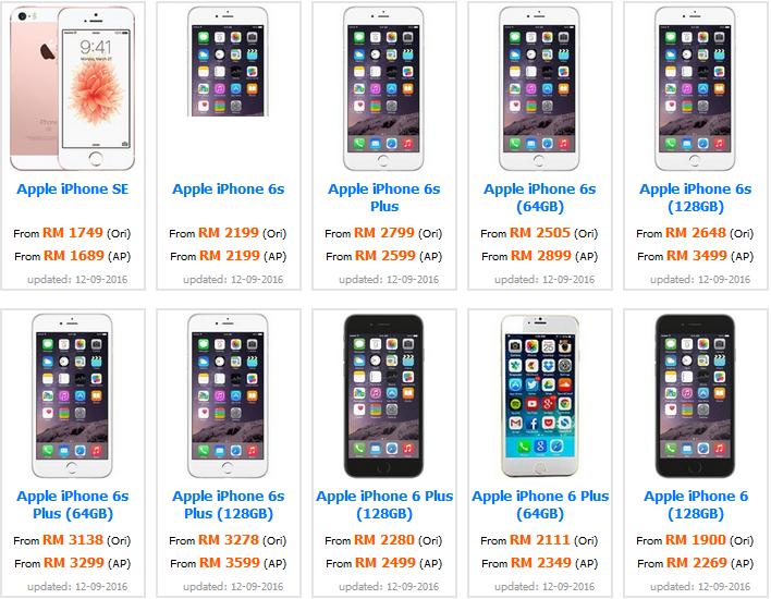 New Harga Iphone 7 Plus Malaysia Terkini