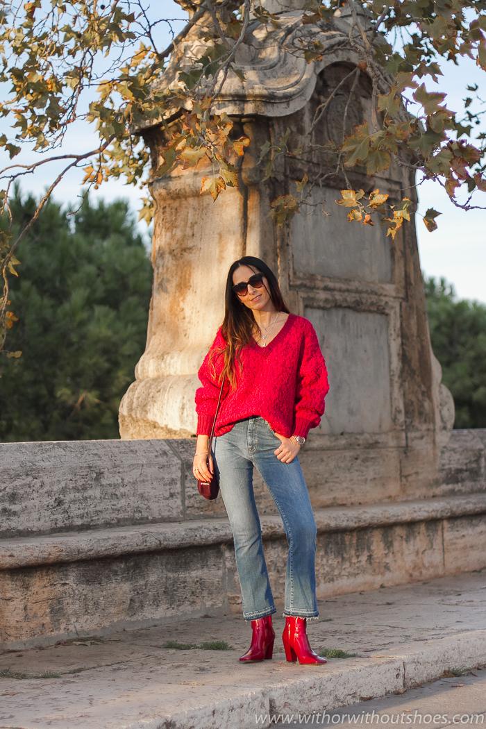Blogger influencer instagram valencia lifestyle ideas look para combinar jersey blanco jeans acampanados cortos tobilleros Meltin Pot
