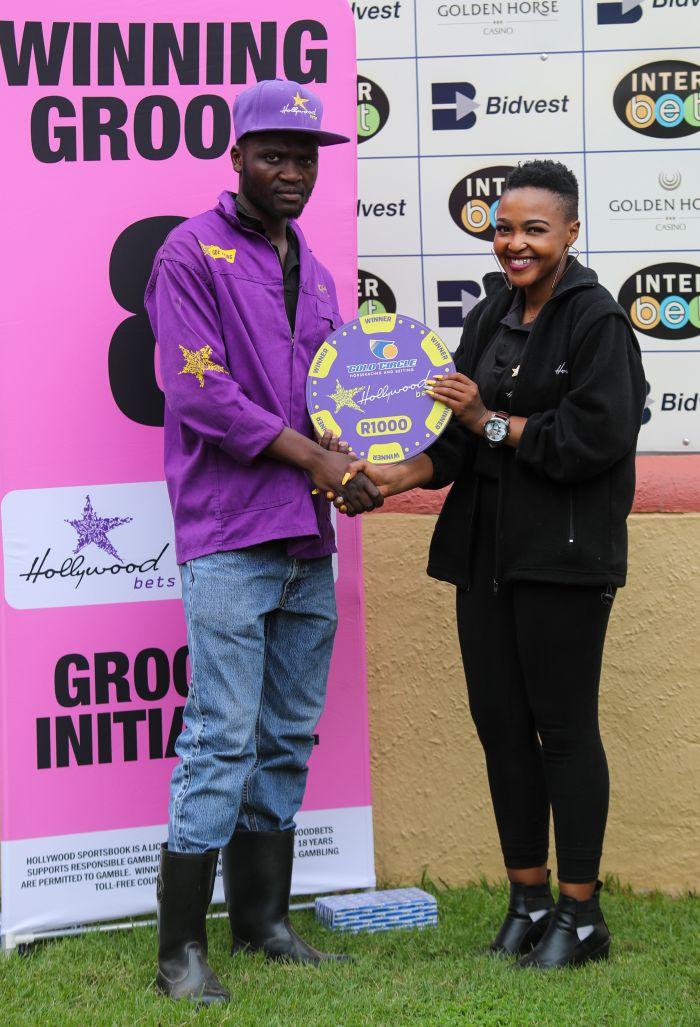 Grooms Initiative Winner - 22nd December 2019 - Race 3 - Siyamcela Sigwebela - PROUD WARRIOR
