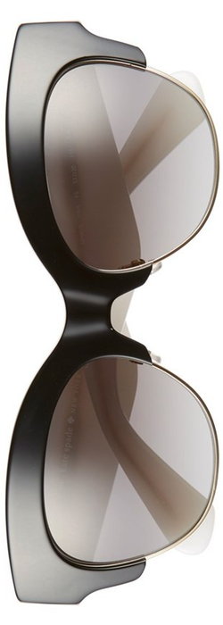 kate spade new york 'nikki' 53mm sunglasses