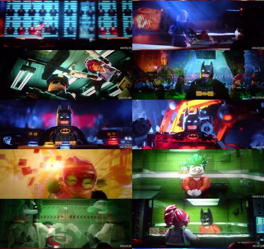 The Lego Batman (2017) 720p Dual Audio Full Movie - Movieonhd