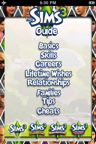 apps tracker guide for the sims 3 original ambitions. Black Bedroom Furniture Sets. Home Design Ideas