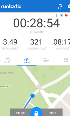Runtastic Running PRO 6.5 Apk-Screenshot-1