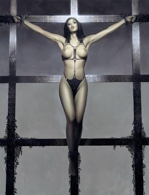 Mujeres crucificadas Crucified women lorenzo sperlonga