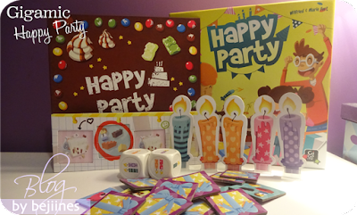 anniversaire bougies Happy Party de Gigamic