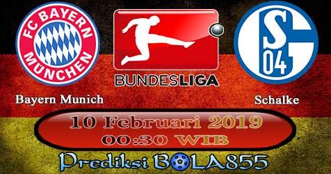 Prediksi Bola855 Bayern Munich vs Schalke 10 Februari 2019