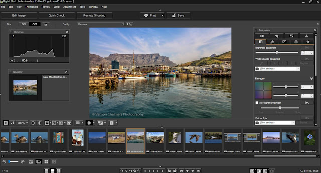 Canon Digital Professional Editing Software Suite - As deployed on Windows 10 Professional