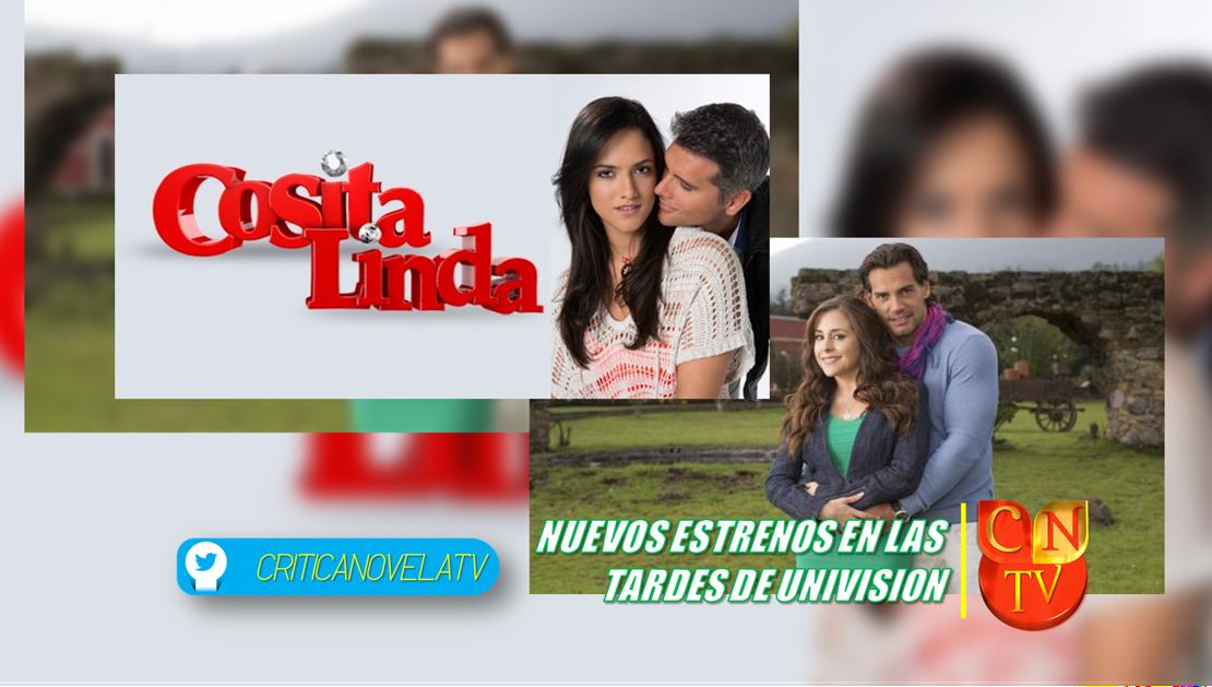 Univision Estrena Dos Nuevas Telenovelas   Crítica Novela Tv