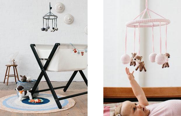 decoracion infantil crochet - Decoración infantil muy colorida tejida a crochet