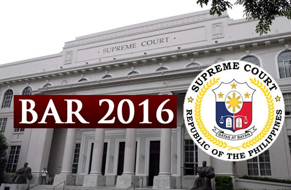 2016 Bar exam results out before Holy Week - source