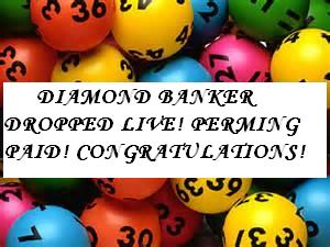 ONEWORLD LOTTO: DIAMOND BANKER DROPPED LIVE, WINNING ALL THE WAY