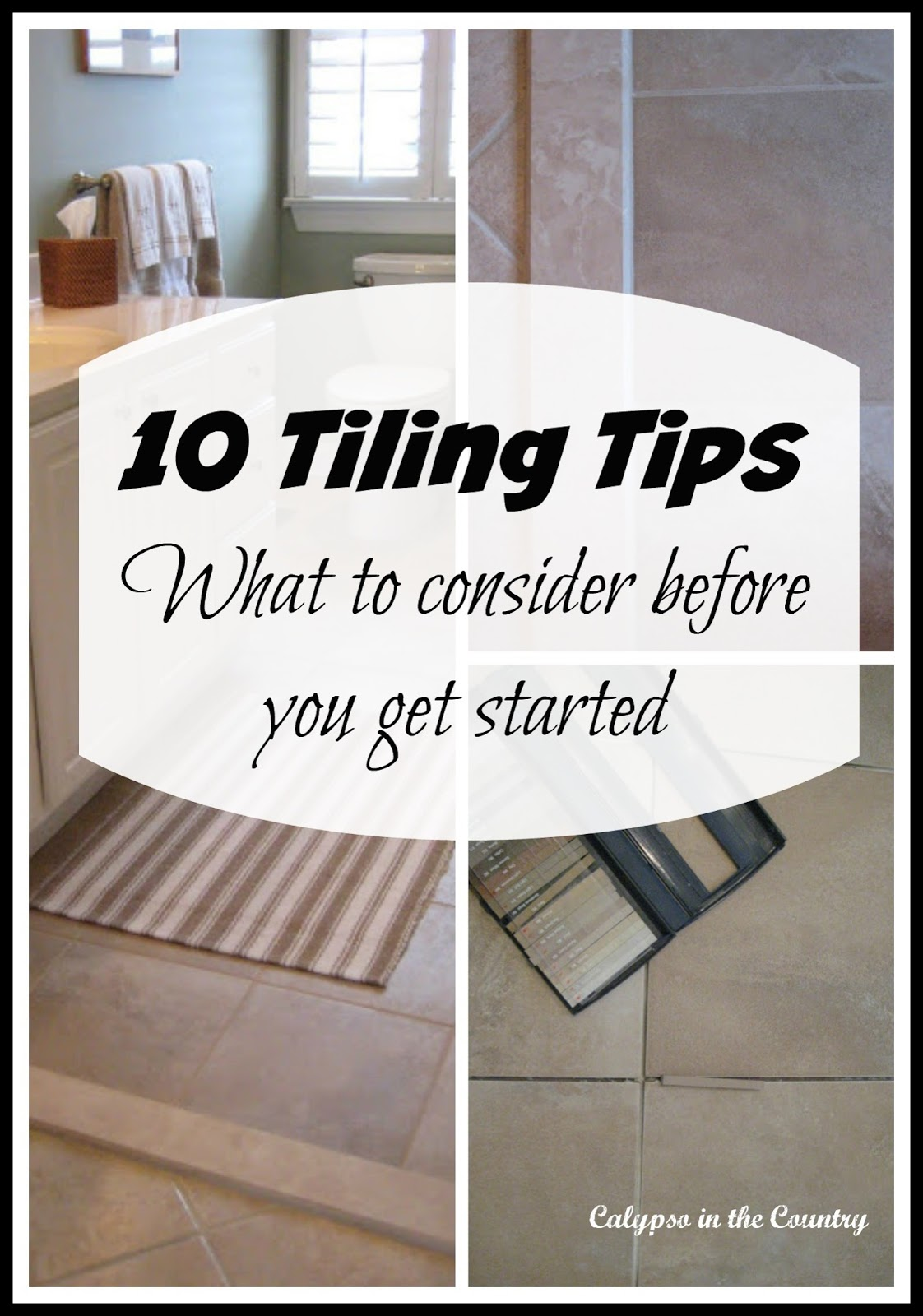 Tips for Tiling a Floor