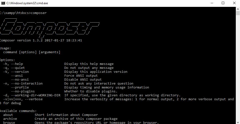 Cara Install Laravel di Localhost Xampp Melalui Composer Create Project