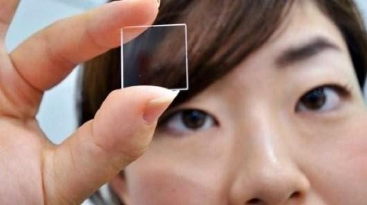 Над згаданої вище технологією працюють спільно дві інноваційні компанії  Hitachi і Kiyotaka Miura. Їм вдалося створити крихти кварцового скла 82d8a5b69a64a