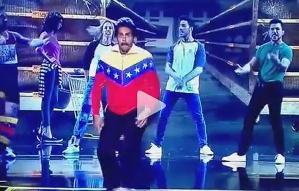 Imitador del dictador Maduro baila en España